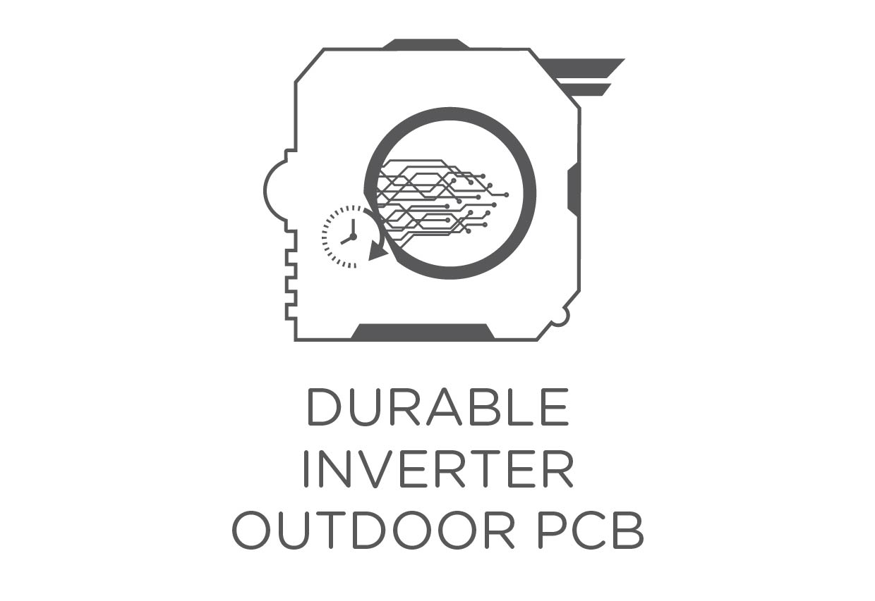 durable inverter outdoor pcb